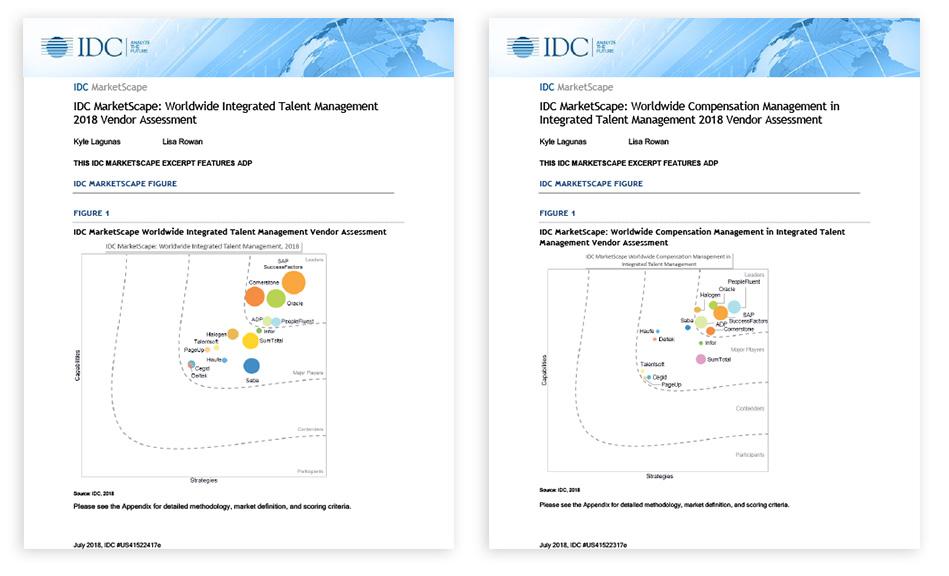 IDC Markescape Vendor Assessment